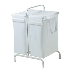 Mulig Laundry Bag With Stand White Ikeapedia