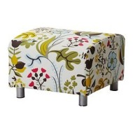 klippan housse pour pouf blomsterm la multicolore ikea france ikeapedia. Black Bedroom Furniture Sets. Home Design Ideas