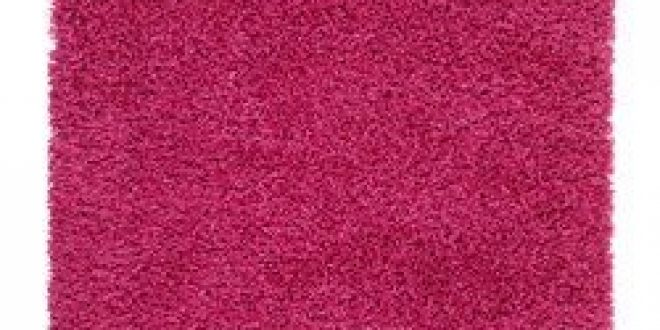 HAMPEN Rug, high pile bright pink (IKEA