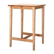 Table Haute Bois Ikea