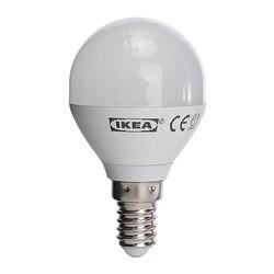 ledare ampoule led e14 globe opalin ikea france ikeapedia. Black Bedroom Furniture Sets. Home Design Ideas