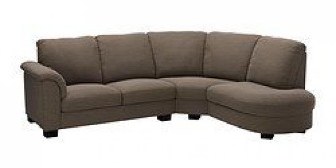 TIDAFORS Corner sofa with arm left Hensta light brown (IKEA United States) - IKEAPEDIA