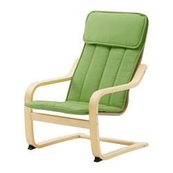Ikea Poang Draaifauteuil.Poang Fauteuil Enfant Plaque Bouleau Almas Vert Ikea France