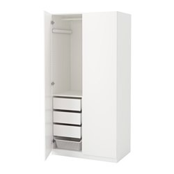 pax armoire penderie blanc tanem blanc ikea france ikeapedia. Black Bedroom Furniture Sets. Home Design Ideas