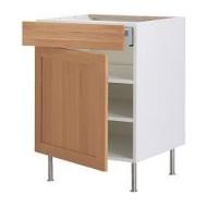 faktum l ment bas tablette tiroir porte tidaholm ch ne ikea belgium ikeapedia. Black Bedroom Furniture Sets. Home Design Ideas