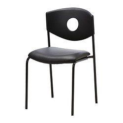 Chaise Ikea Stoljan noire 25 de disponibles