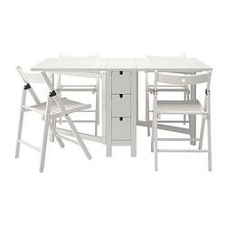 norden terje table et 4 chaises blanc ikea france ikeapedia. Black Bedroom Furniture Sets. Home Design Ideas