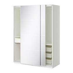 pax armoire penderie blanc auli miroir ikea france ikeapedia. Black Bedroom Furniture Sets. Home Design Ideas