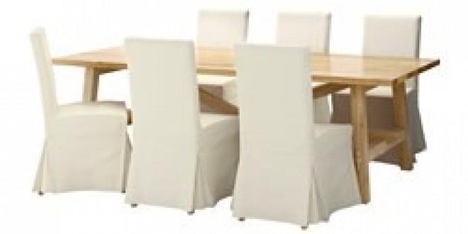 M ckelby henriksdal table et 6 chaises ch ne blekinge blanc ikea switzerl - Table et chaises ikea ...