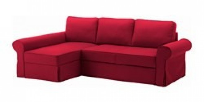 backabro convertible avec m ridienne nordvalla rouge ikea france ikeapedia. Black Bedroom Furniture Sets. Home Design Ideas