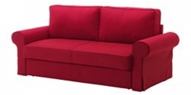 Backabro divano letto a 3 posti nordvalla rosso ikea italy ikeapedia - Divano rosso ikea ...