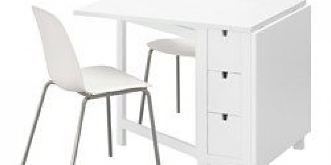 norden leifarne table et 2 chaises blanc blanc chrom ikea france ikeapedia. Black Bedroom Furniture Sets. Home Design Ideas