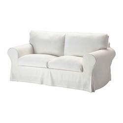 ektorp canap 2 places sten sa blanc ikea france ikeapedia. Black Bedroom Furniture Sets. Home Design Ideas