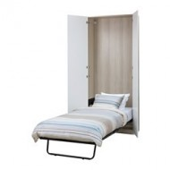 Armadio Letto A Scomparsa Ikea.Midsund Wall Bed White Stained Oak White Ikea United Kingdom