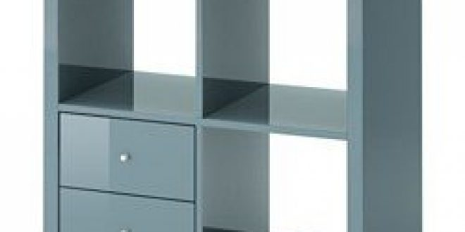 kallax tag re avec tiroirs gris turquoise brillant ikea france ikeapedia. Black Bedroom Furniture Sets. Home Design Ideas
