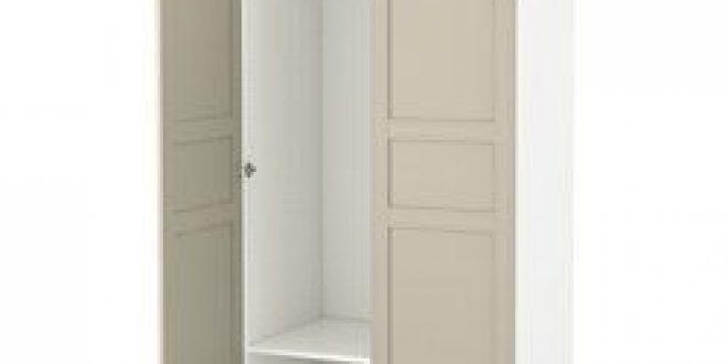 pax armoire penderie blanc flisberget beige clair ikea belgium ikeapedia. Black Bedroom Furniture Sets. Home Design Ideas