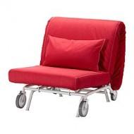 Ikea Ps Murbo Chauffeuse Convertible Vansta Rouge Ikea