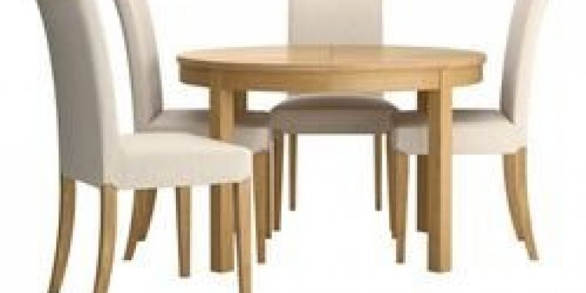 Bjursta Henriksdal Table And 4 Chairs Oak Veneer Linneryd
