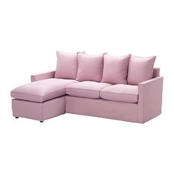 H rn sand canap 2 places m ridienne olstorp rose clair ikea switzerland ikeapedia - Canape rose ikea ...