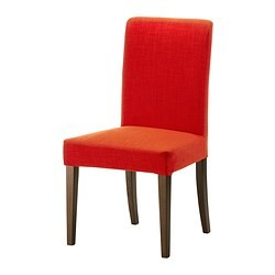henriksdal chaise brun skiftebo orange ikea france. Black Bedroom Furniture Sets. Home Design Ideas