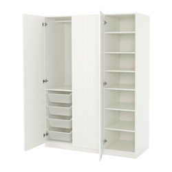 pax armoire penderie blanc marnardal blanc beige ray ikea france ikeapedia. Black Bedroom Furniture Sets. Home Design Ideas