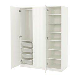 pax armoire penderie blanc marnardal blanc beige ray ikea france ikeapedia. Black Bedroom Furniture Sets. Home Design Ideas