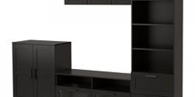 Brimnes Tv Storage Combination Black Ikea United States Ikeapedia