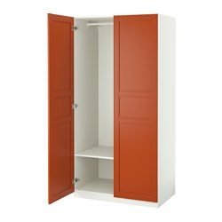 pax armoire penderie blanc flisberget brun rouge ikea france ikeapedia. Black Bedroom Furniture Sets. Home Design Ideas