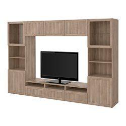 besta tv storage combinationglass doors ikea united