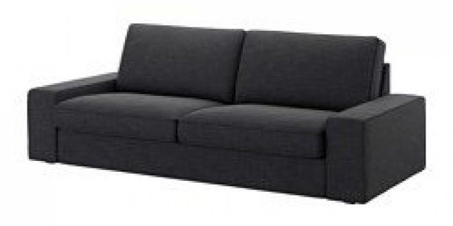 Kivik sofa hillared anthracite ikea united states - Housse canape convertible ikea ...