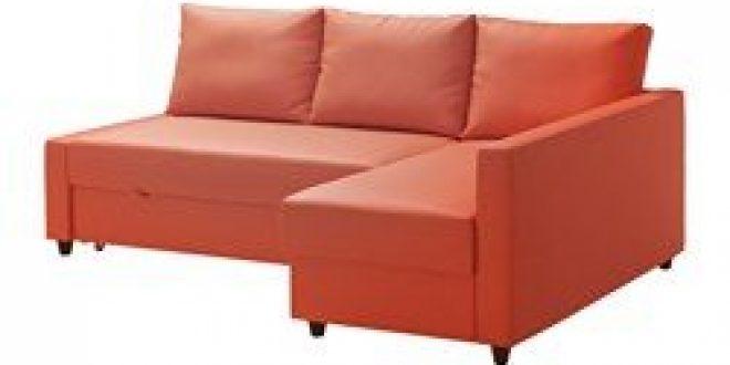 Divano Letto Ikea Friheten.Friheten Divano Letto Angolare Contenitore Skiftebo Arancione