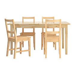 Svalbo Bertil Table Et 4 Chaises Pin Ikeapedia