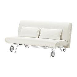 Ikea Ps LÖvÅs Sofa Bed Gräsbo White