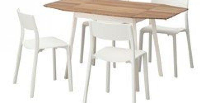 ikea ps 2012 janinge table et 4 chaises bambou blanc ikea france ikeapedia. Black Bedroom Furniture Sets. Home Design Ideas
