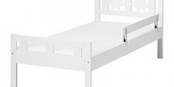 KRITTER Bed Frame With Slatted Base White IKEA Canada English