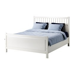 hemnes bed frame white ikea united states ikeapedia. Black Bedroom Furniture Sets. Home Design Ideas