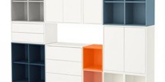 Eket combinazione di mobili con gambe multicolore ikea italy ikeapedia - Gambe mobili ikea ...