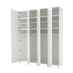 platsa armoire penderie blanc fenstad blanc ikea france ikeapedia. Black Bedroom Furniture Sets. Home Design Ideas