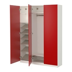 pax armoire av am nagements int rieurs blanc tanem rouge ikea france ikeapedia. Black Bedroom Furniture Sets. Home Design Ideas