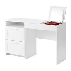 brimnes coiffeuse commode 2 tiroirs blanc ikea france ikeapedia. Black Bedroom Furniture Sets. Home Design Ideas