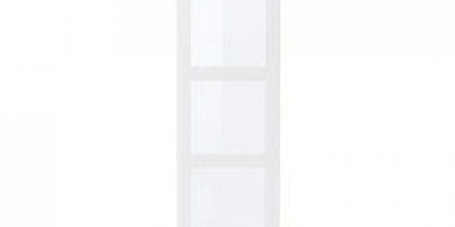 tyssedal porte blanc verre ikea france ikeapedia. Black Bedroom Furniture Sets. Home Design Ideas