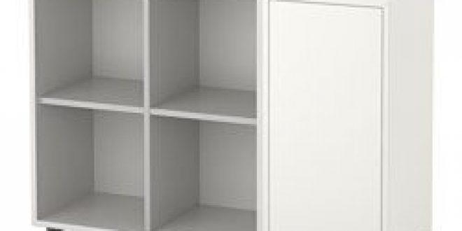 Eket combinazione di mobili con piedini bianco grigio chiaro ikea italy ikeapedia - Piedini mobili ikea ...