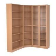 Billy biblioth que d 39 angle plaqu h tre ikea france ikeapedia - Ikea bibliotheque angle ...