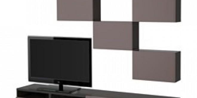 best combinaison meuble tv brun noir valviken brun fonc ikea france ikeapedia. Black Bedroom Furniture Sets. Home Design Ideas
