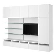 best framst combinaison tv rangement verre gris ikea belgium ikeapedia. Black Bedroom Furniture Sets. Home Design Ideas