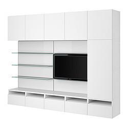 Best framst combinaison tv rangement verre gris ikea - Ikea meuble vitrine verre ...