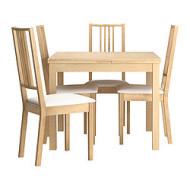 Meuble table moderne chaises noir et blanc - Chaise blanc d ivoire ...
