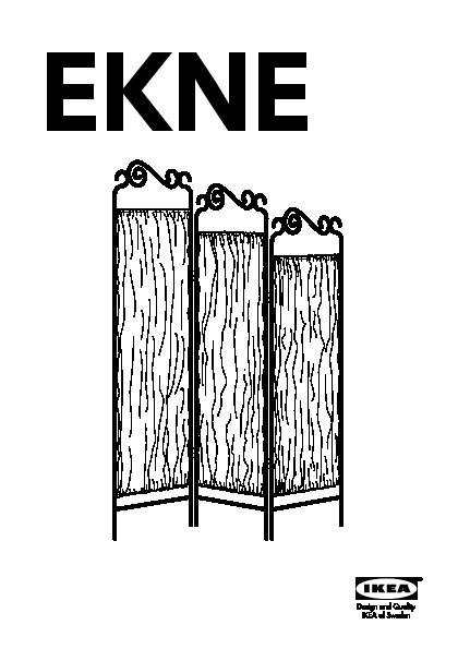 Ekne Paravent Gris Blanc Ikea France Ikeapedia