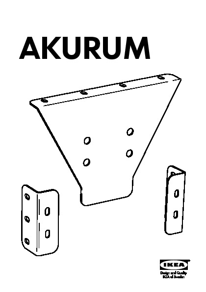 AKURUM false drawer hardware (IKEA United States) - IKEAPEDIA