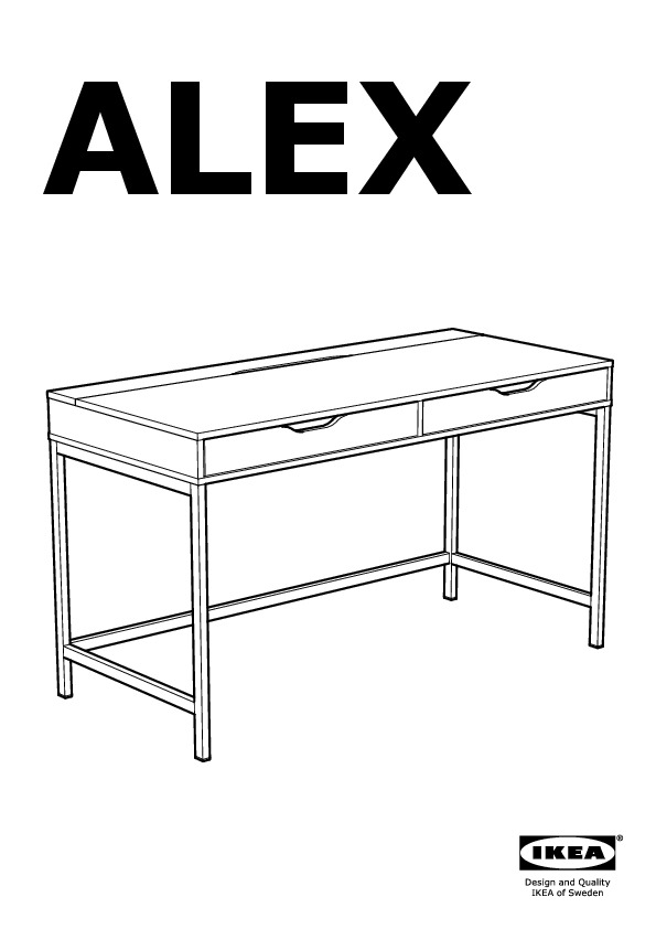alex bureau blanc ikea france ikeapedia. Black Bedroom Furniture Sets. Home Design Ideas